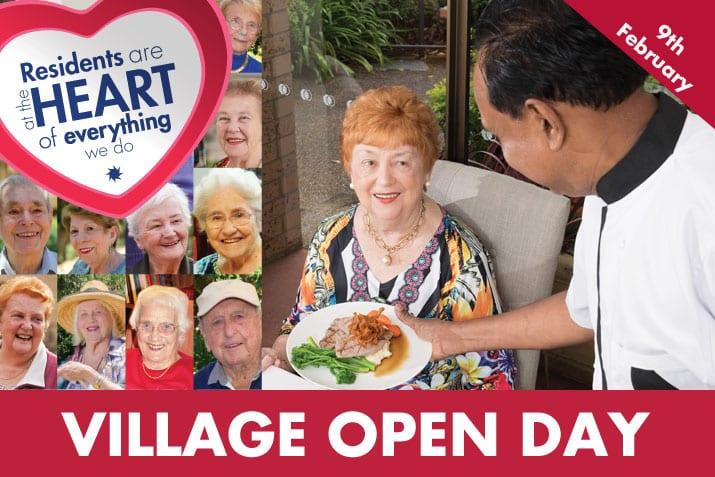 retirement village open day