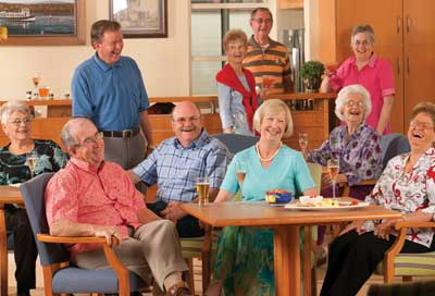 Retirement village community centre