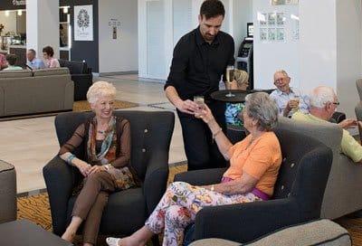 Social events for seniors