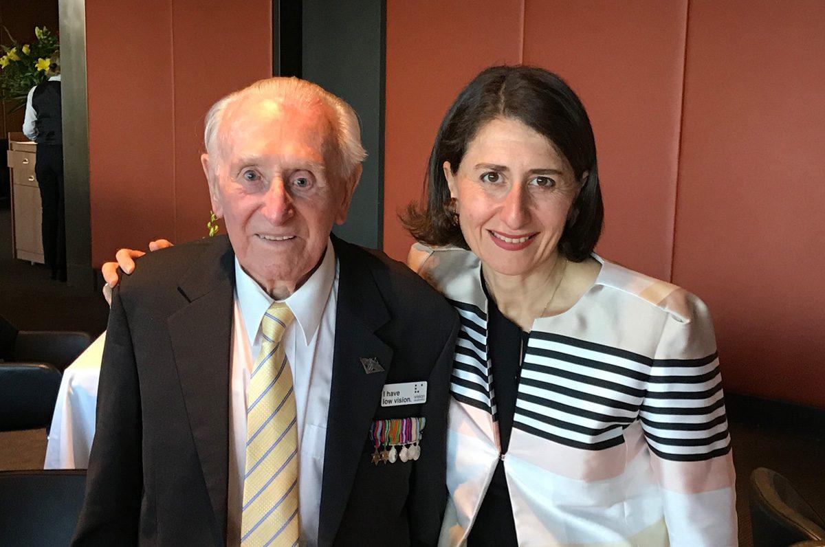 Centenarian Geoff Bushnell