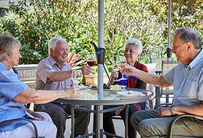 Marsfield Retirement Village BBQ Area