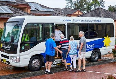 Village bus
