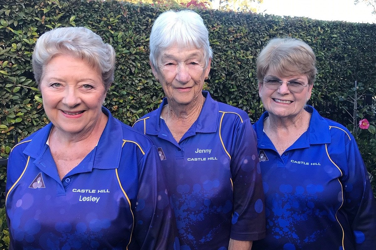 (From left) Lesley Henry, Jenny Mann and Di Creed, Living Choice Glenhaven Residents.